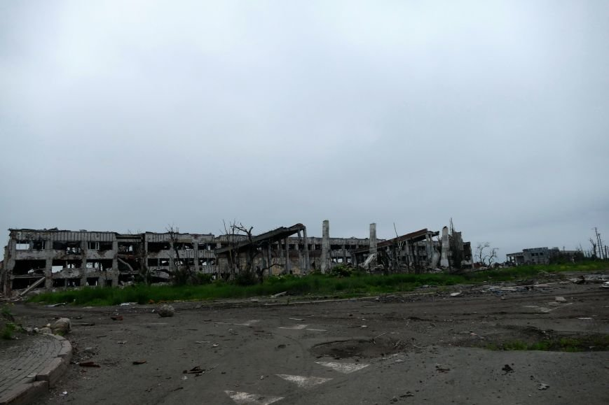 Руины Донецкого аэропорта  - август 2016 года (ФОТО), фото-6