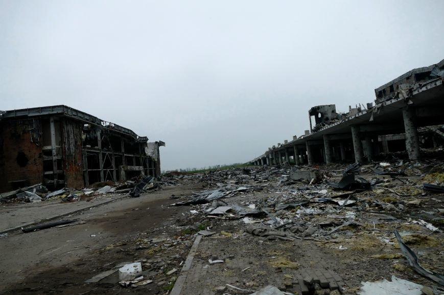 Руины Донецкого аэропорта  - август 2016 года (ФОТО), фото-3