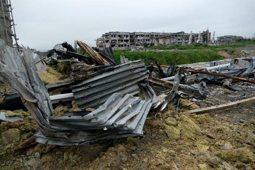 Руины Донецкого аэропорта  - август 2016 года (ФОТО), фото-1