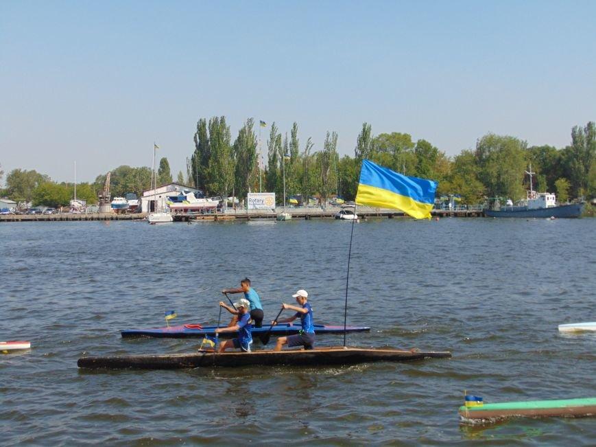 На День Независимости в Николаеве воды Южного Буга и Ингула заполнили 730 флагов Украины (ФОТОРЕПОРТАЖ), фото-8