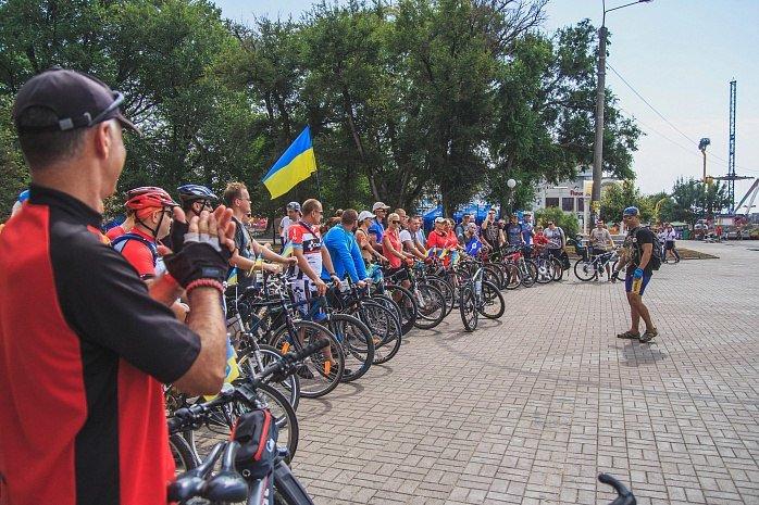 Велопробег  в честь Дня независимости Украины состоялся в Бердянске, фото-4