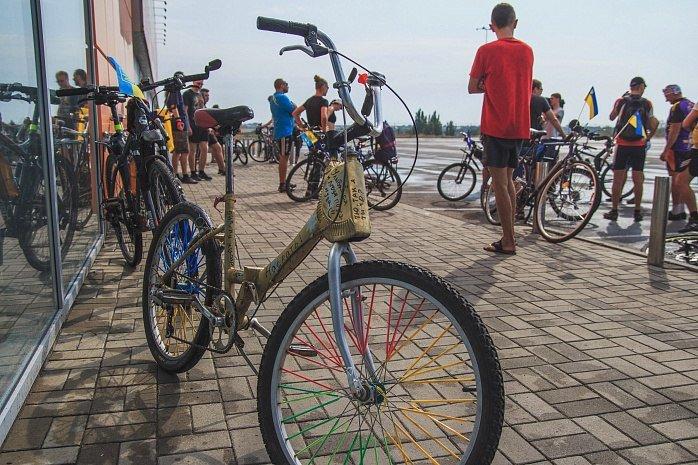 Велопробег  в честь Дня независимости Украины состоялся в Бердянске, фото-3