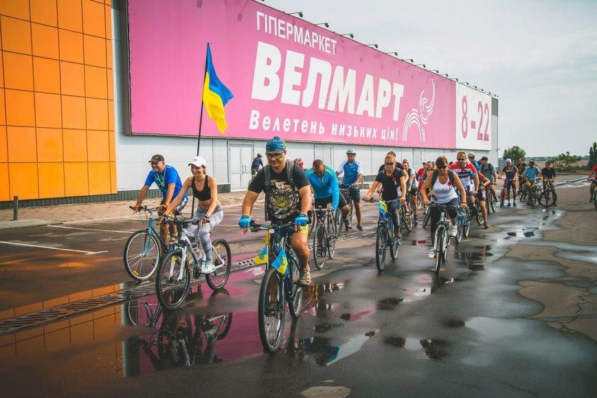 Велопробег  в честь Дня независимости Украины состоялся в Бердянске, фото-5