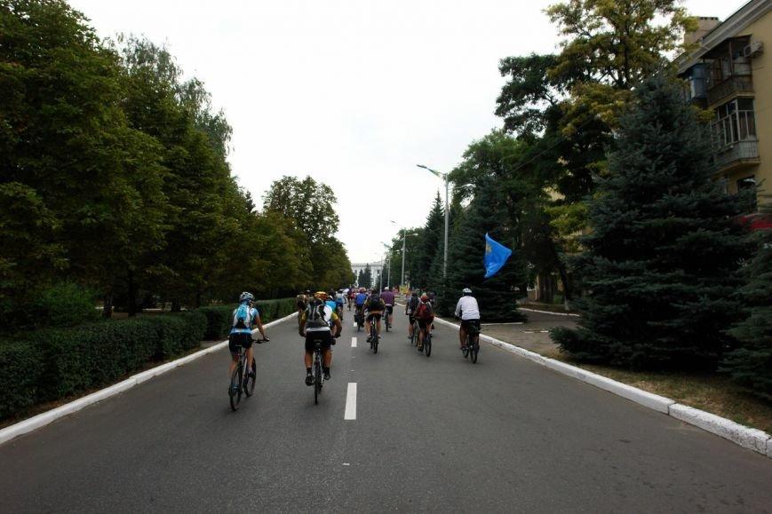 Краматорск принял участие в большом велопробеге, фото-2