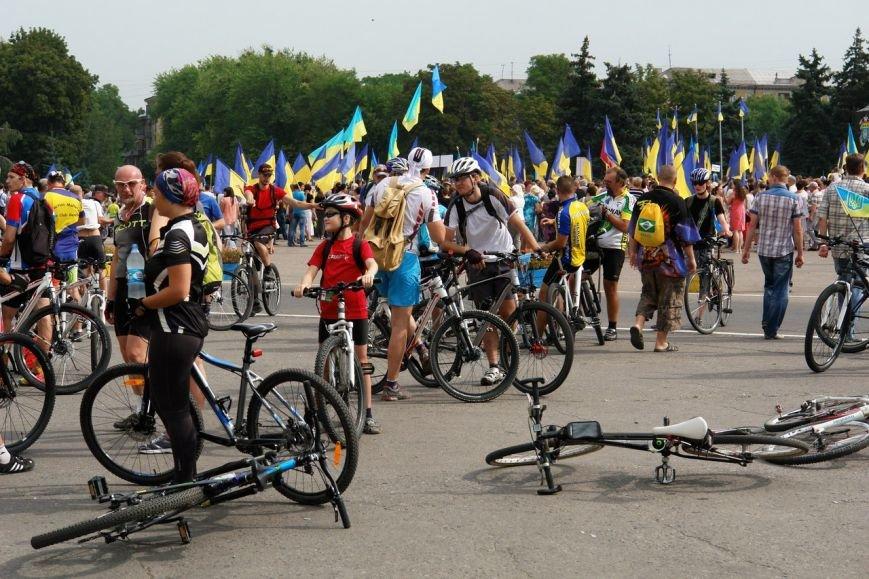 Краматорск принял участие в большом велопробеге, фото-5
