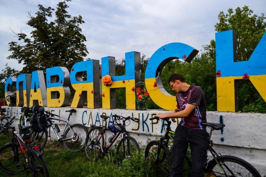 Краматорск принял участие в большом велопробеге, фото-1