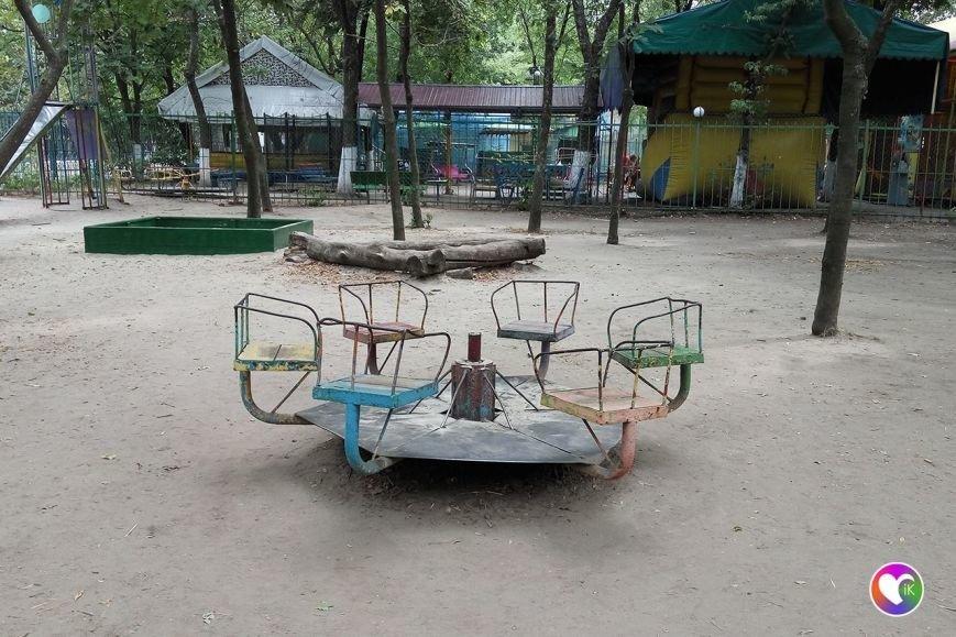 Краматорские бизнесмены ломают детские площадки? (фОТО), фото-1