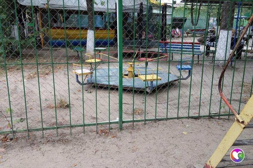 Краматорские бизнесмены ломают детские площадки? (фОТО), фото-4