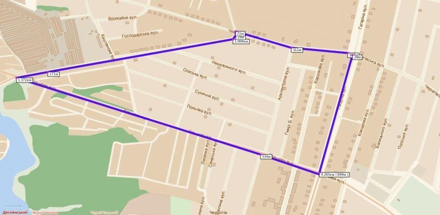 Завтра в Чернигове ожидается изменение автобусных маршрутов, фото-1