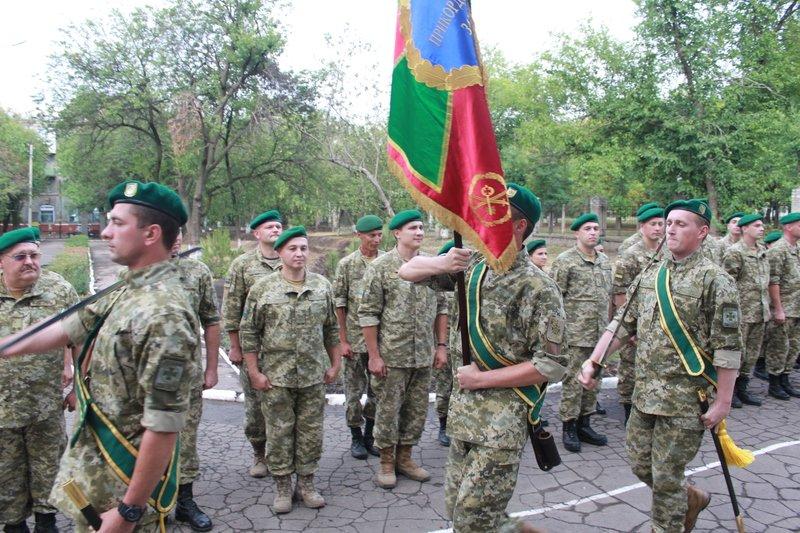 Краматорский погранотряд получил боевое знамя, фото-2