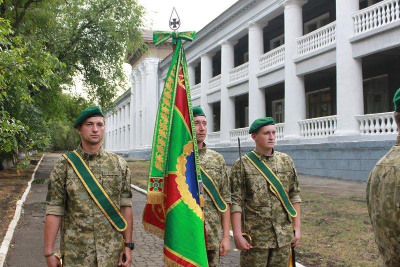 Краматорский погранотряд получил боевое знамя, фото-3