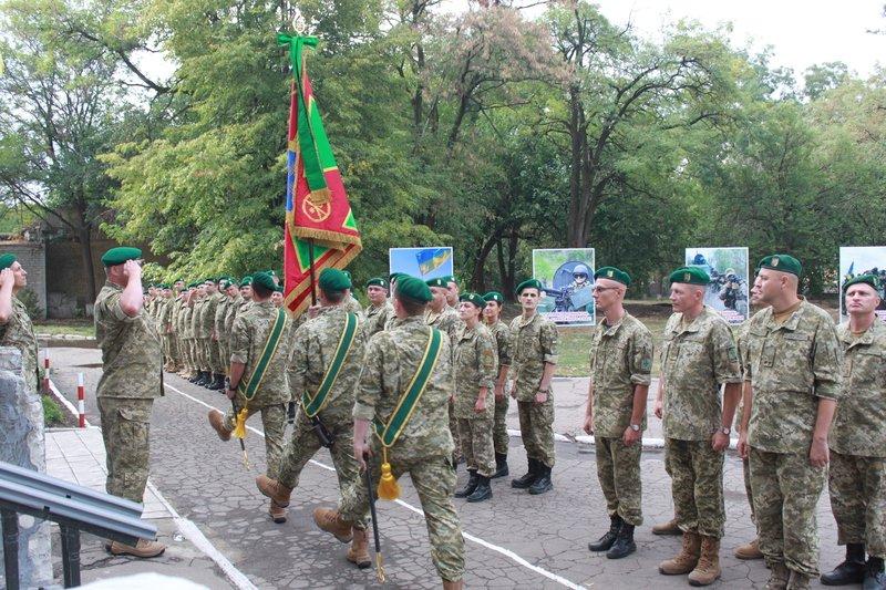 Краматорский погранотряд получил боевое знамя, фото-1