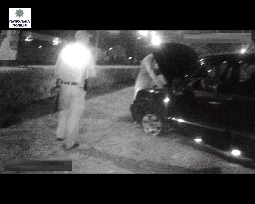 В Николаеве пьяный водитель врезался в дорожный знак (ФОТО), фото-2