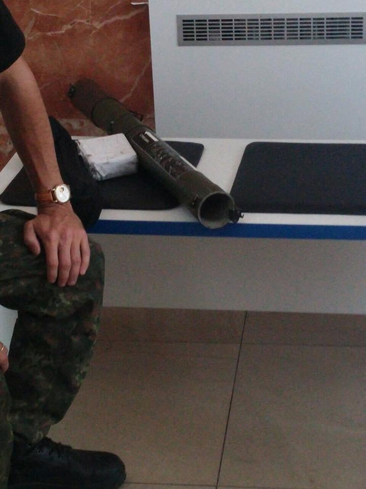В Краматорске на железнодорожном вокзале нашли тубус РПГ-22, фото-1