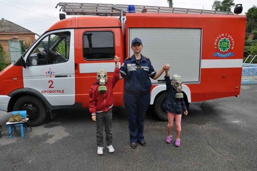 Кропивницкий: воспитанники детского сада вместе со спасателями побывали в «Безопасном путешествии», фото-3