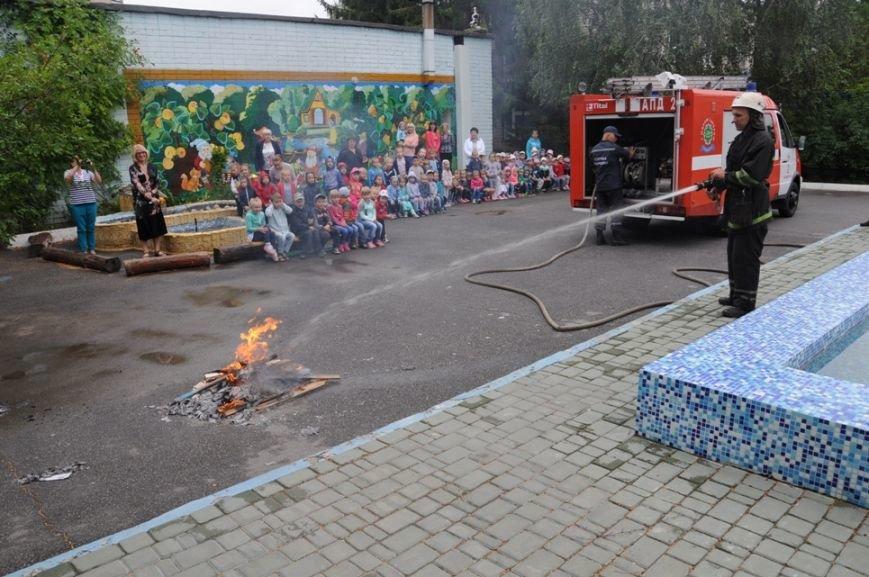 Кропивницкий: воспитанники детского сада вместе со спасателями побывали в «Безопасном путешествии», фото-1