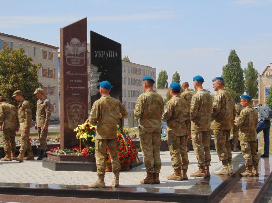 Тем, кто стоял насмерть: в Николаеве открыли памятник героям-десантникам (ФОТОРЕПОРТАЖ), фото-2