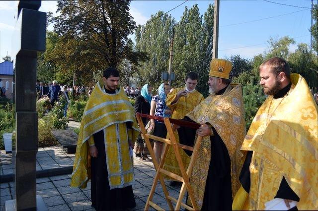В Доброполье прошла панихида по погибшим шахтёрам, фото-1