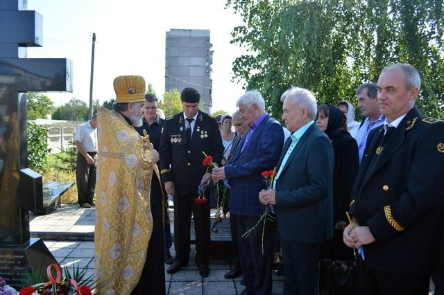 В Доброполье прошла панихида по погибшим шахтёрам, фото-3