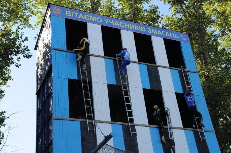 Кропивницкий: состоялось открытие соревнований на Кубок Украины по пожарно-прикладному спорту, фото-1