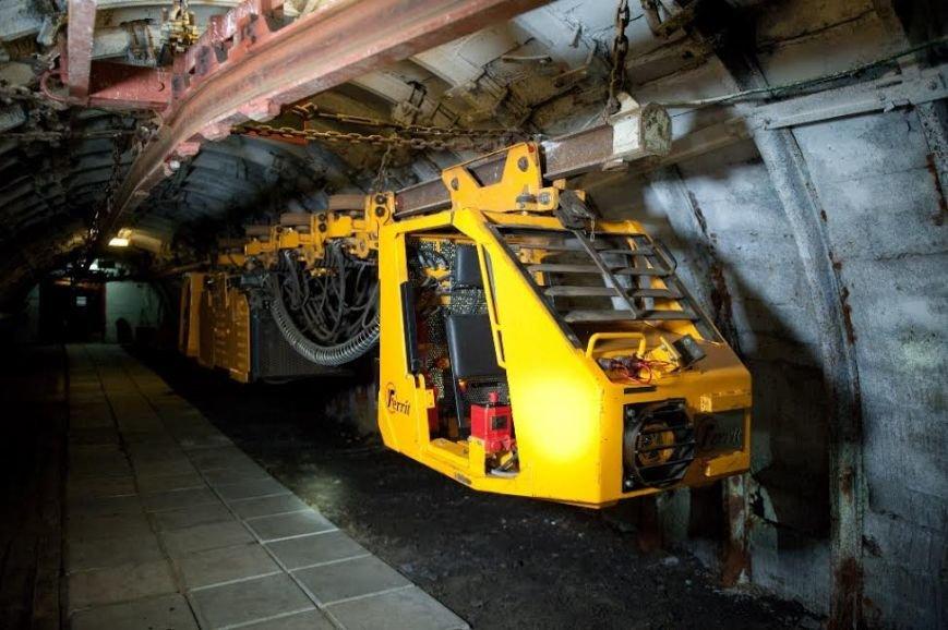 фото подземных электровозов него попала