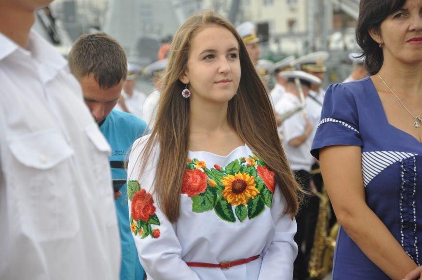 Военные моряки в Одессе приняли присягу (ФОТО), фото-13
