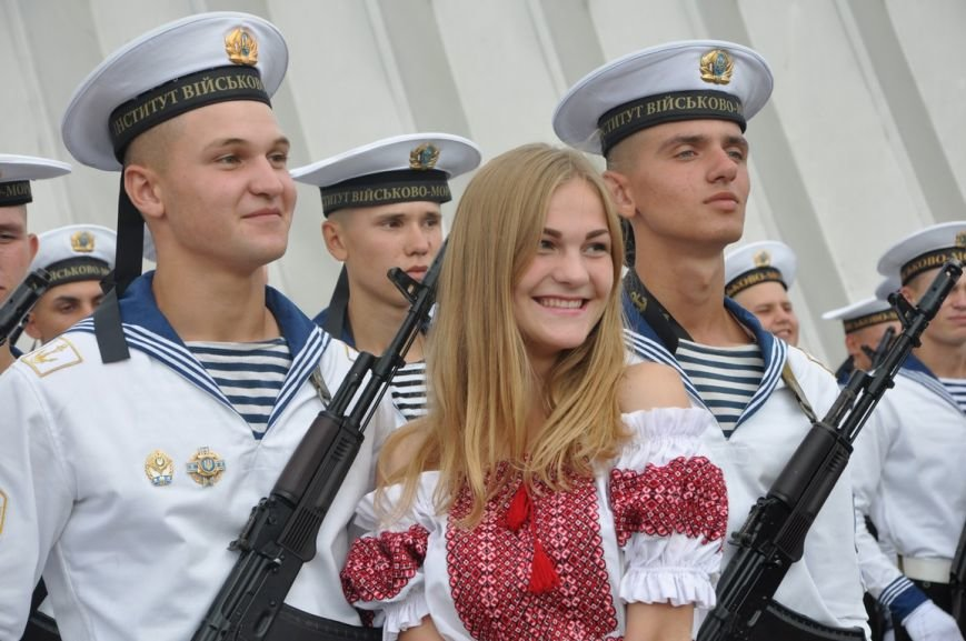 Военные моряки в Одессе приняли присягу (ФОТО), фото-19