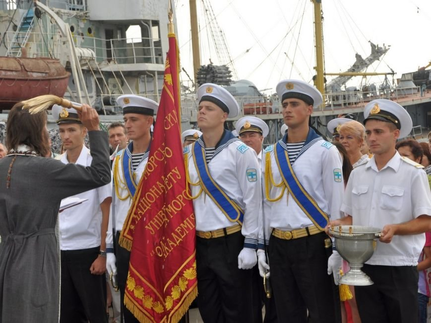 Военные моряки в Одессе приняли присягу (ФОТО), фото-1