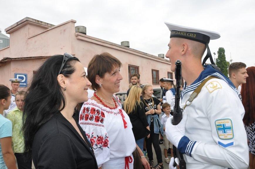 Военные моряки в Одессе приняли присягу (ФОТО), фото-22