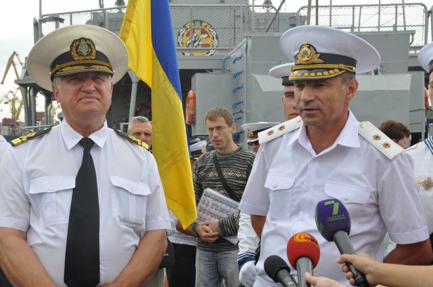 Военные моряки в Одессе приняли присягу (ФОТО), фото-18