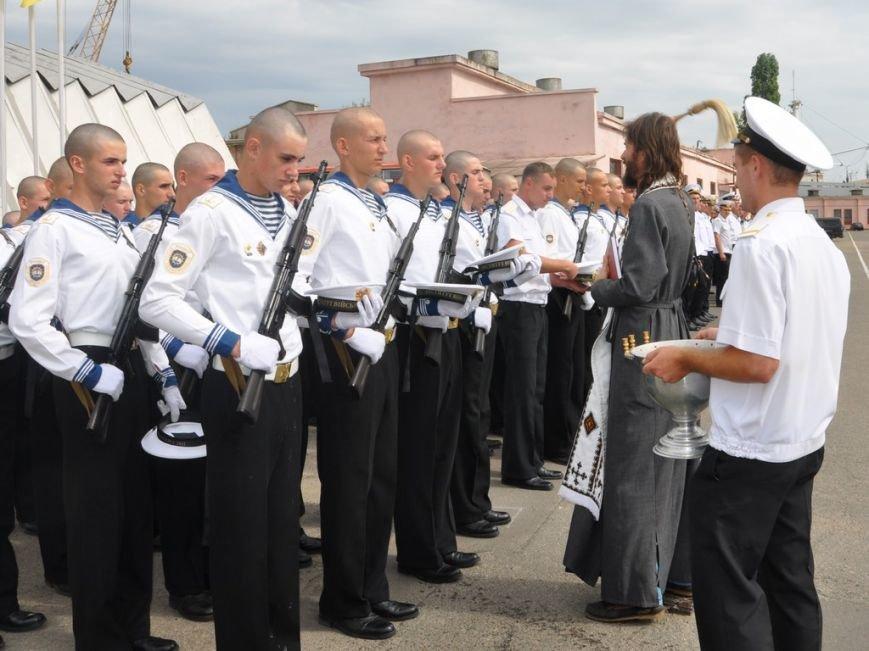 Военные моряки в Одессе приняли присягу (ФОТО), фото-15