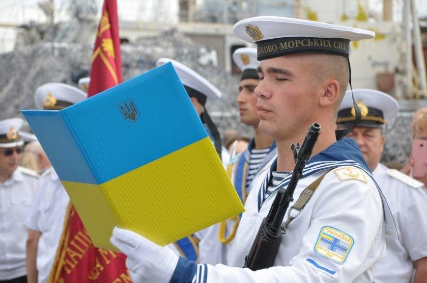 Военные моряки в Одессе приняли присягу (ФОТО), фото-7