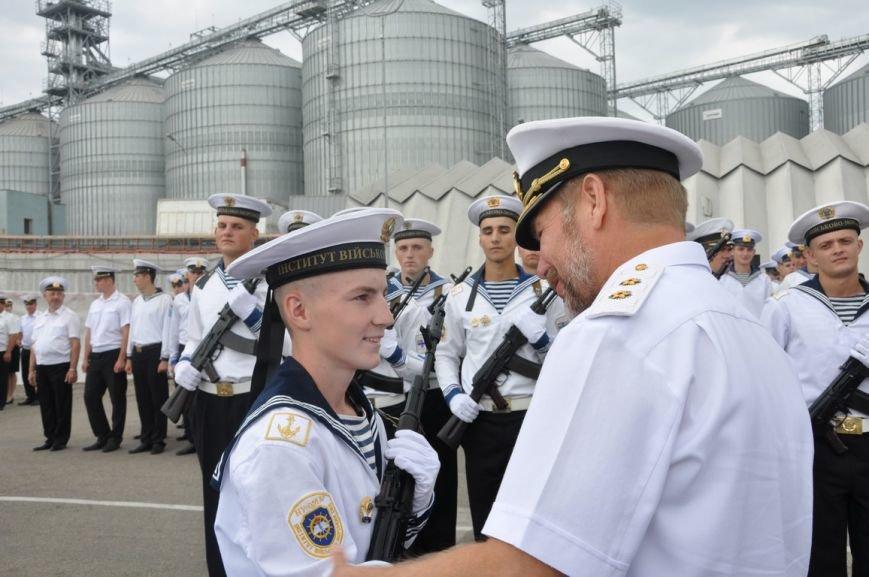 Военные моряки в Одессе приняли присягу (ФОТО), фото-10