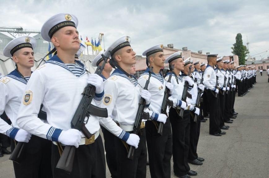 Военные моряки в Одессе приняли присягу (ФОТО), фото-3
