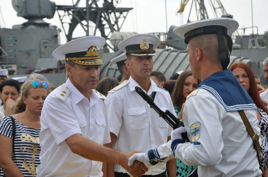 Военные моряки в Одессе приняли присягу (ФОТО), фото-8