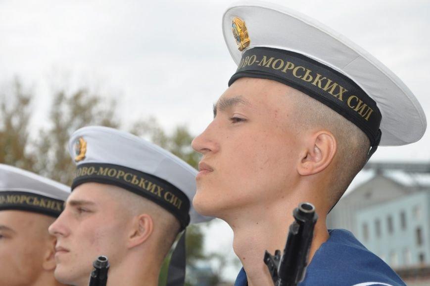 Военные моряки в Одессе приняли присягу (ФОТО), фото-12
