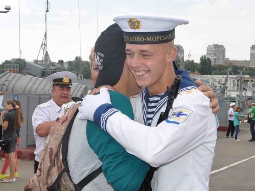 Военные моряки в Одессе приняли присягу (ФОТО), фото-24