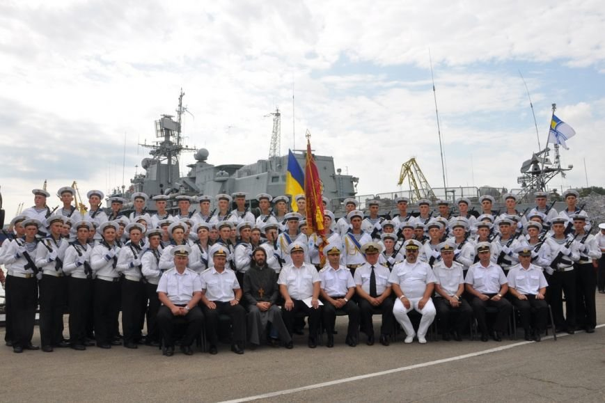 Военные моряки в Одессе приняли присягу (ФОТО), фото-20
