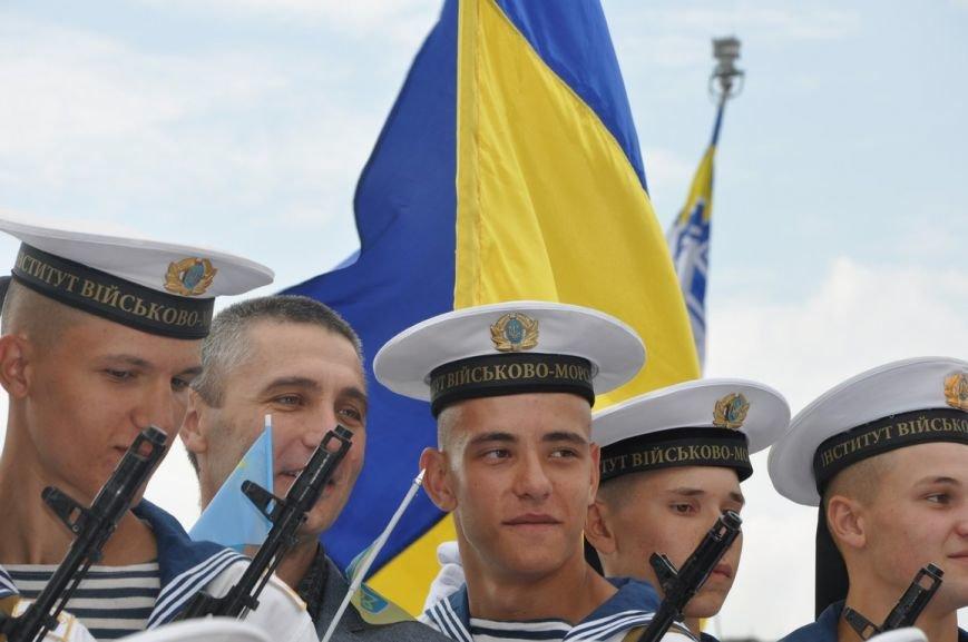 Военные моряки в Одессе приняли присягу (ФОТО), фото-21