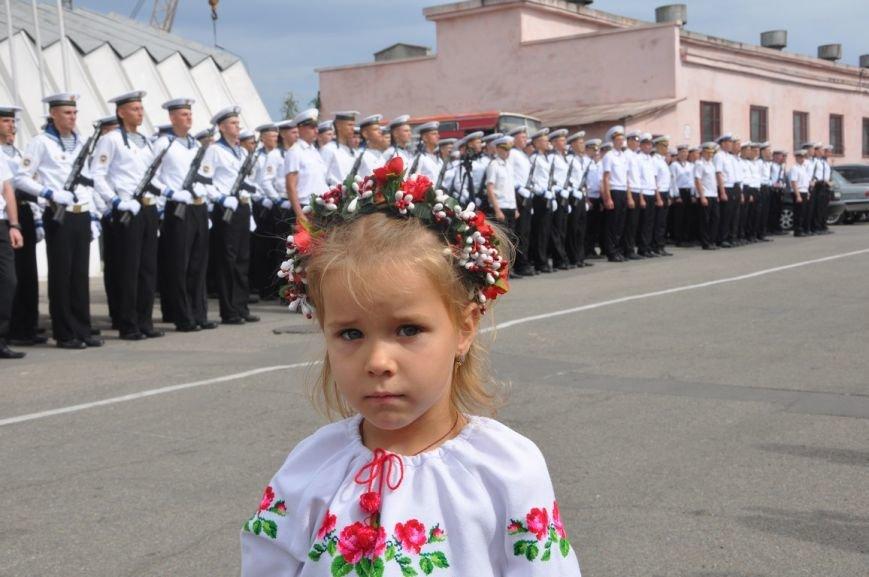 Военные моряки в Одессе приняли присягу (ФОТО), фото-14