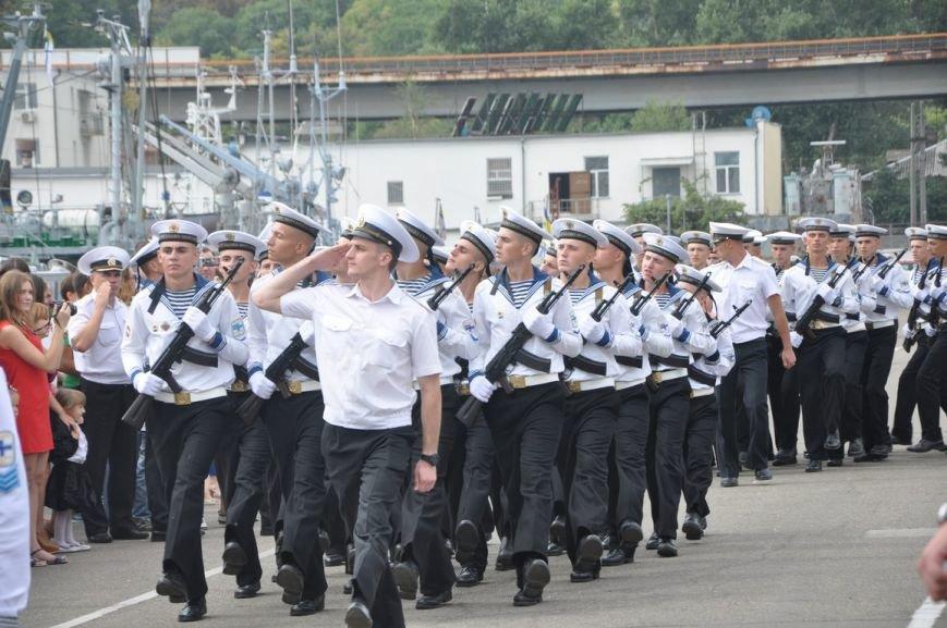Военные моряки в Одессе приняли присягу (ФОТО), фото-17