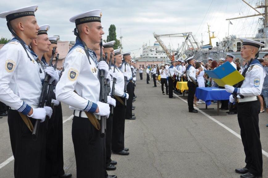 Военные моряки в Одессе приняли присягу (ФОТО), фото-5