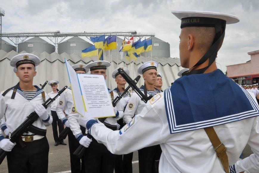 Военные моряки в Одессе приняли присягу (ФОТО), фото-4