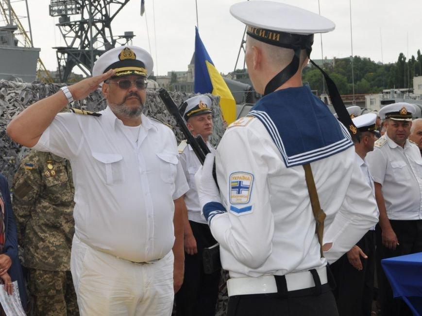 Военные моряки в Одессе приняли присягу (ФОТО), фото-11