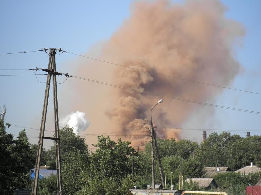 Мариупольцев напугал бурый дым комбината им.Ильича(Дополнено, Фотофакт), фото-3