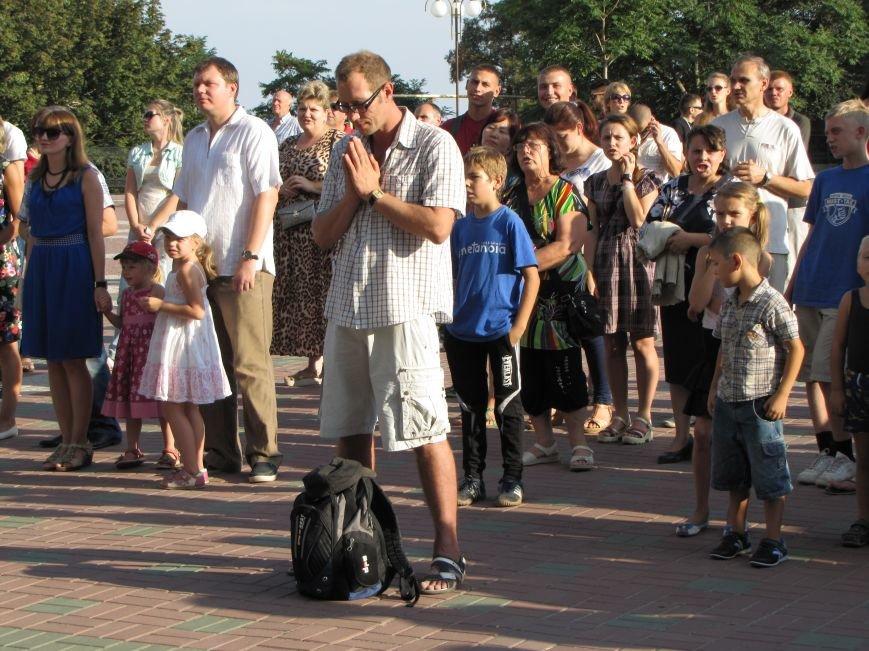 На главной площади Мелитополя прошел всеобщий молебен (фото, видео), фото-5