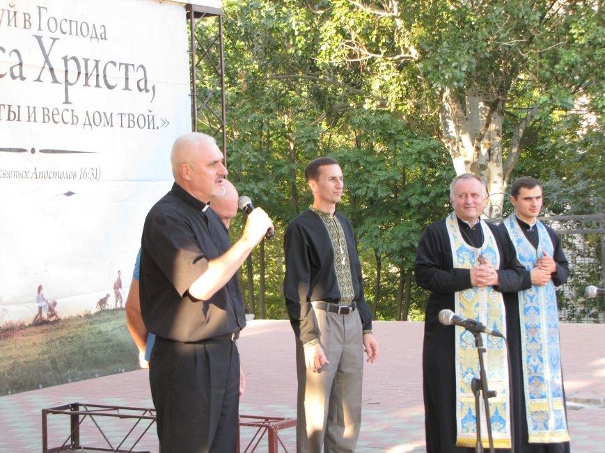 На главной площади Мелитополя прошел всеобщий молебен (фото, видео), фото-1