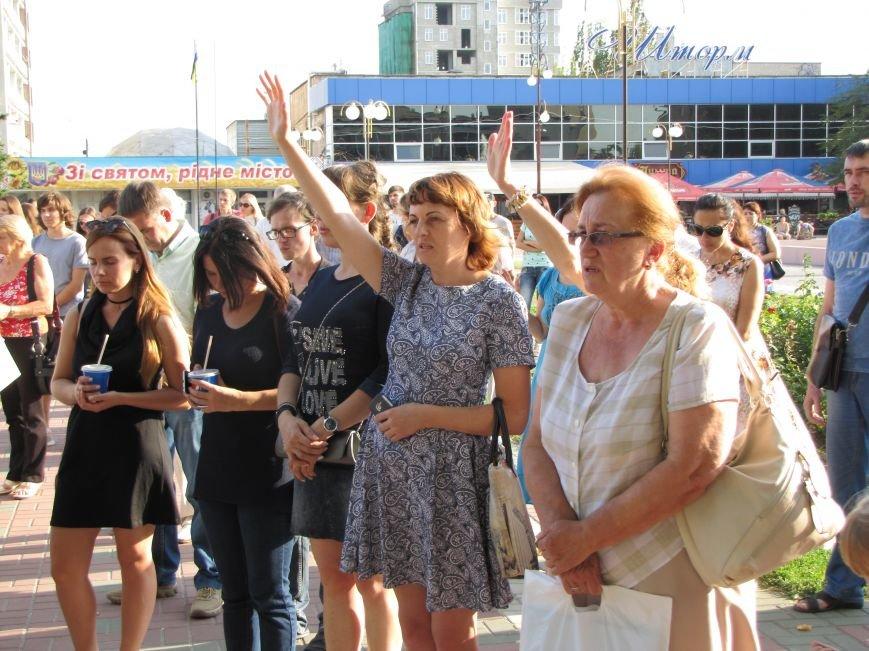 На главной площади Мелитополя прошел всеобщий молебен (фото, видео), фото-2