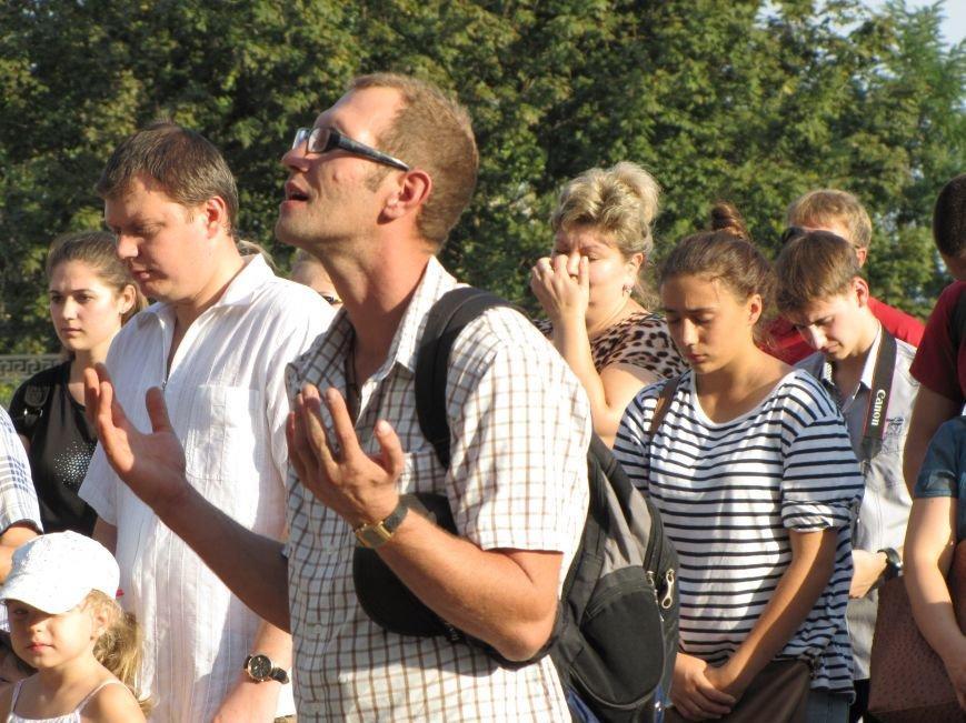 На главной площади Мелитополя прошел всеобщий молебен (фото, видео), фото-6