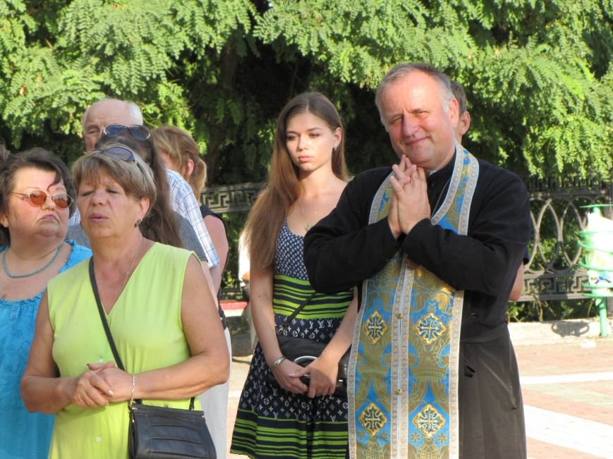 На главной площади Мелитополя прошел всеобщий молебен (фото, видео), фото-4